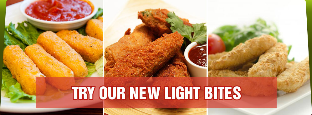 Try our new Light Bites